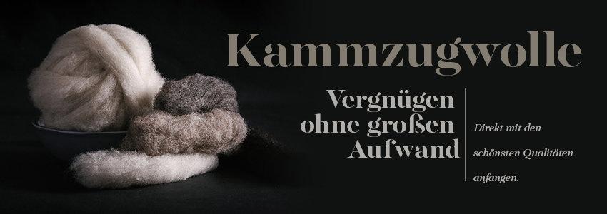 Kammzugwolle
