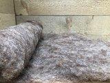 100 g gewaschene Vlieswolle - Dassenkopf (Mioget)_