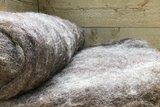 500 g gewaschene Vlieswolle - Dassenkopf (Mioget)_