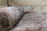 250 g gewaschene Vlieswolle - Karakul (Kupfer)_