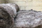 500 g gewaschene Vlieswolle - Basiswolle / Füllwolle (Gemischt)_